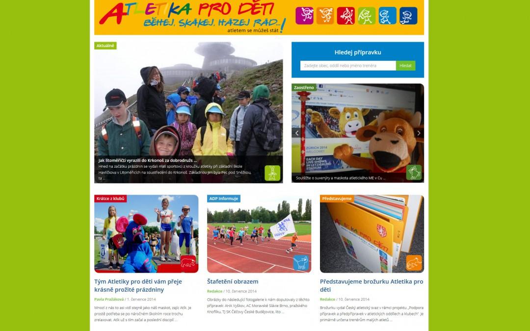 Atletika pro děti