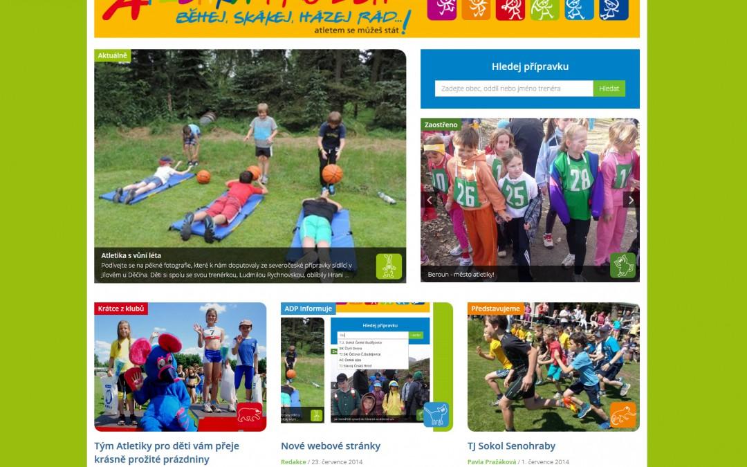 Atletika pro děti - Homepage